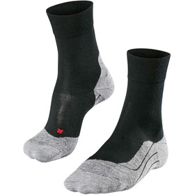 Falke RU4 Wool Sukat Miehet, black mix